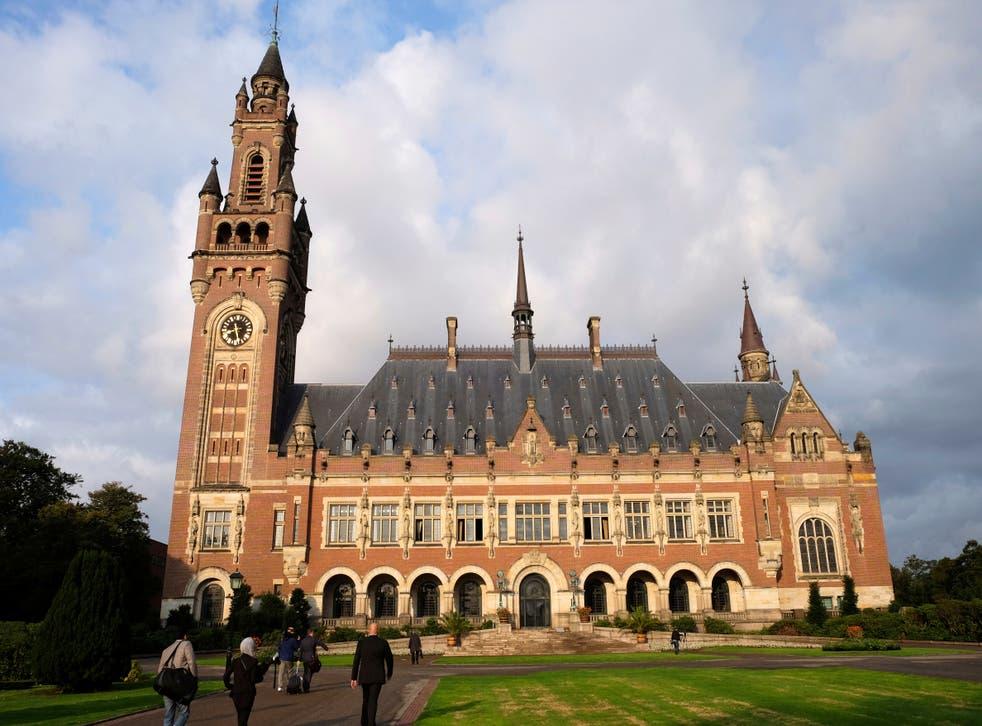 Netherlands World Court Iran US