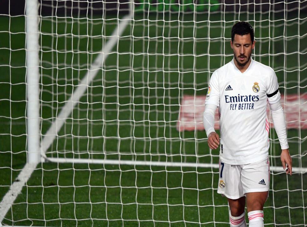Real Madrid forward Eden Hazard