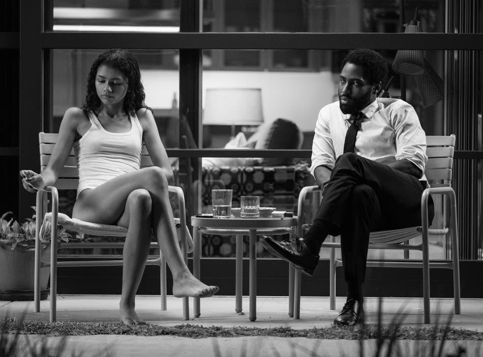 <p>Sitting targets: we're granted ringside seats to the screaming match that ensues between Marie (Zendaya) and Malcolm (John David Washington)</p>