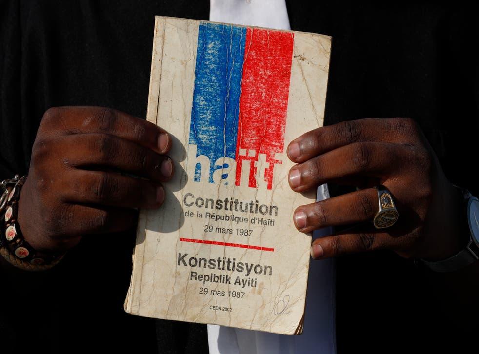 Haiti Constitutional Referendum