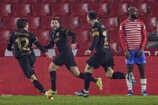 Copa del Rey: Barcelona clasifica a semifinales tras espectacular actuación ante Granada
