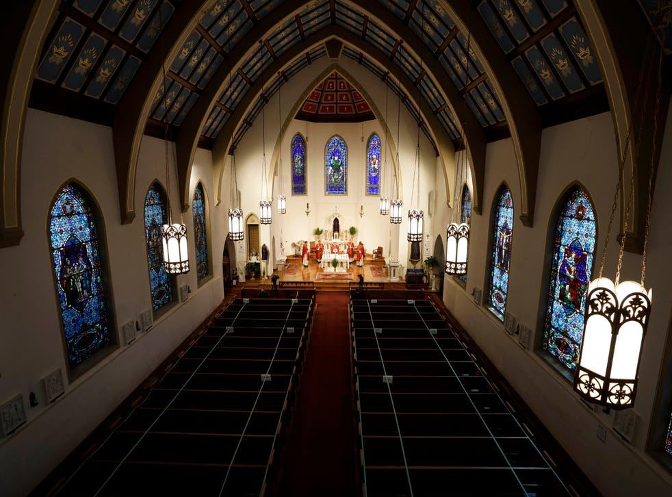 Virus Outbreak Small Business Loans Catholic