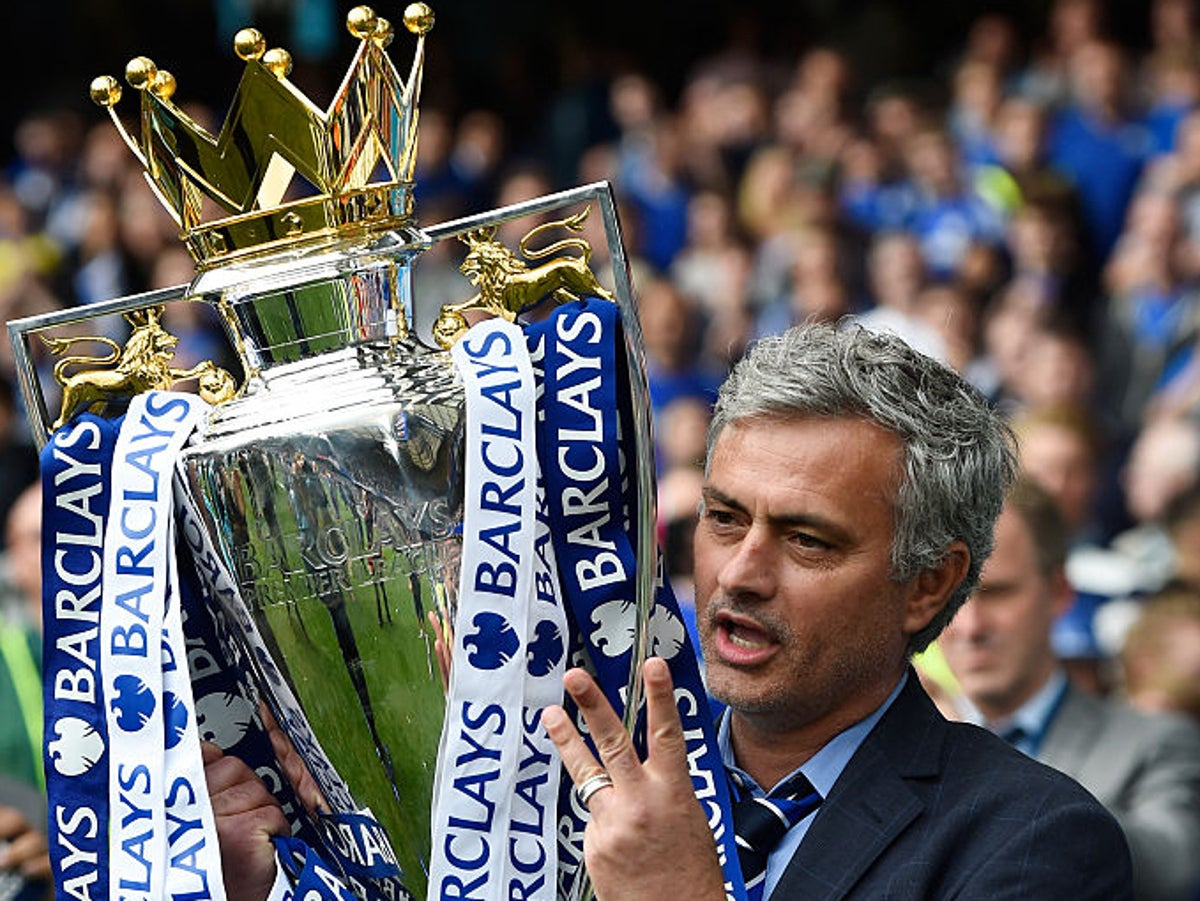 Jose Mourinho claims it's not 'very difficult' to win trophies at Chelsea | The Independent