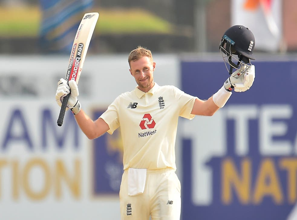 <p>Joe Root wins his 100th cap for England in Chennai</p>