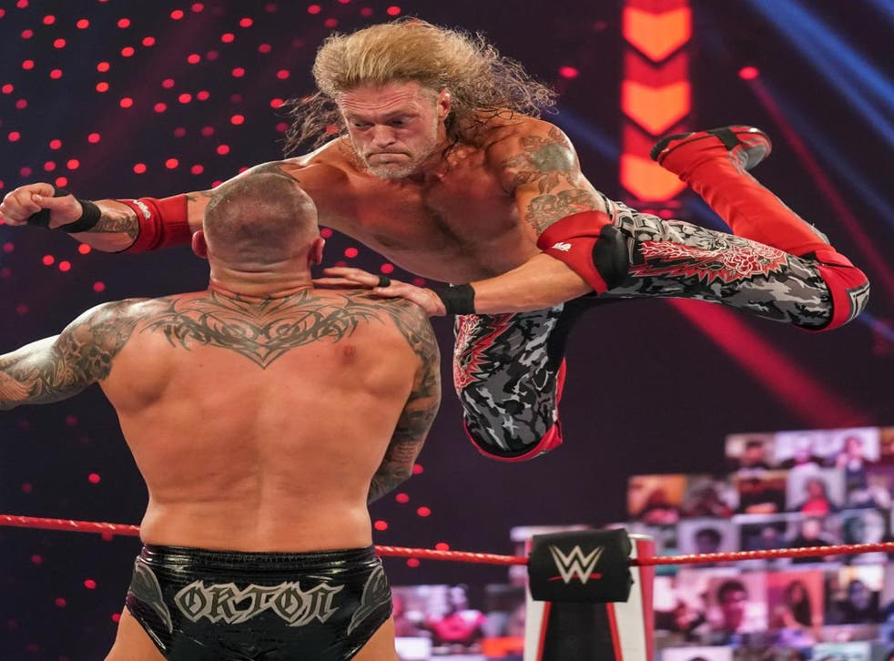 <p>Edge has performed superbly since making his comeback </p>