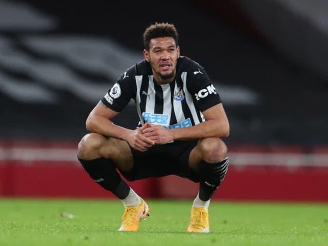 Newcastle forward Joelinton