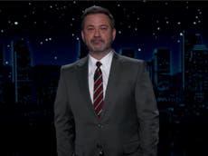 """Jimmy Kimmel se burla de Rudy Giuliani por no ser nominado al Globo de Oro por su aparición en """"Borat"""""""