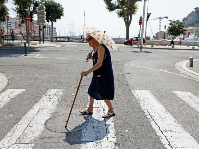 The elderly and those with heart conditions are more likely to die or have their problems exacerbated by the heat