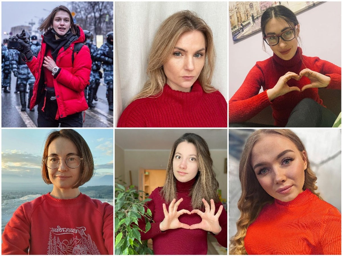Russian girl you likes signs a How to