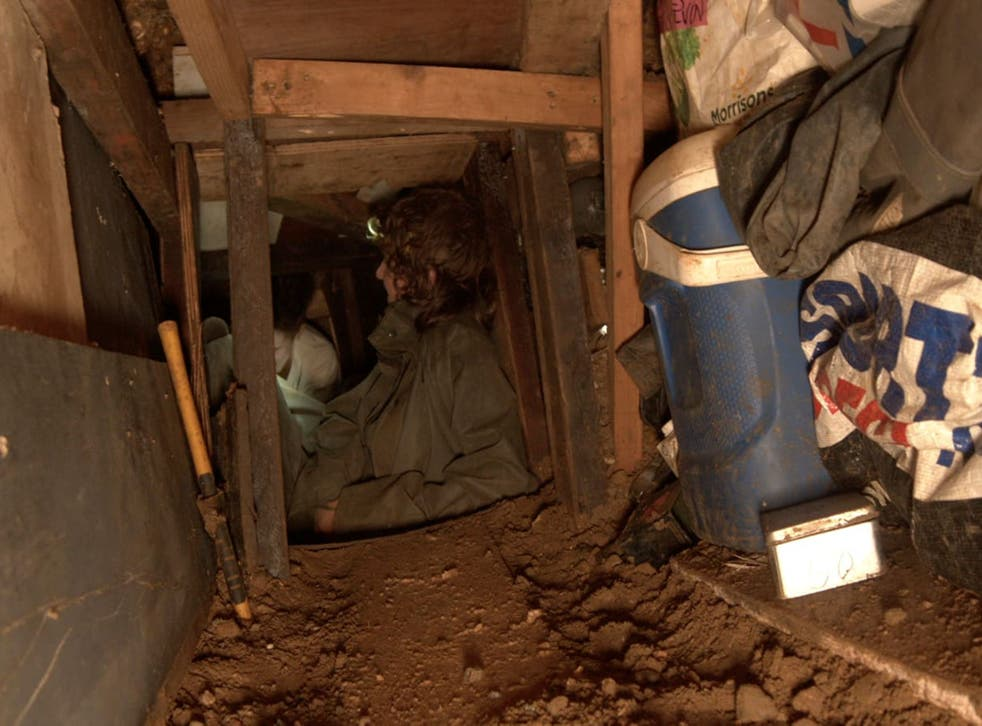 <p>Activists spent more than a month in the tunnel under Euston Square </p>
