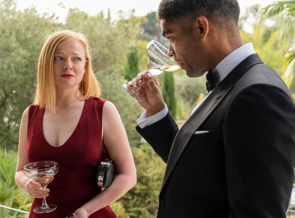 Sarah Snook and Kingsley Ben-Adir in Soulmates