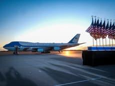Fuerza Aérea informa que una persona ingresó ilegalmente a la Base Andrews previo a un viaje de Biden