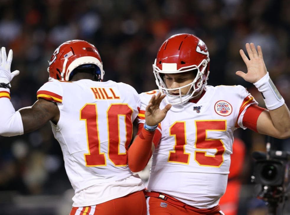 <p>Wide receiver Tyreek Hill is excited to see Patrick Mahomes at Super Bowl LV</p>