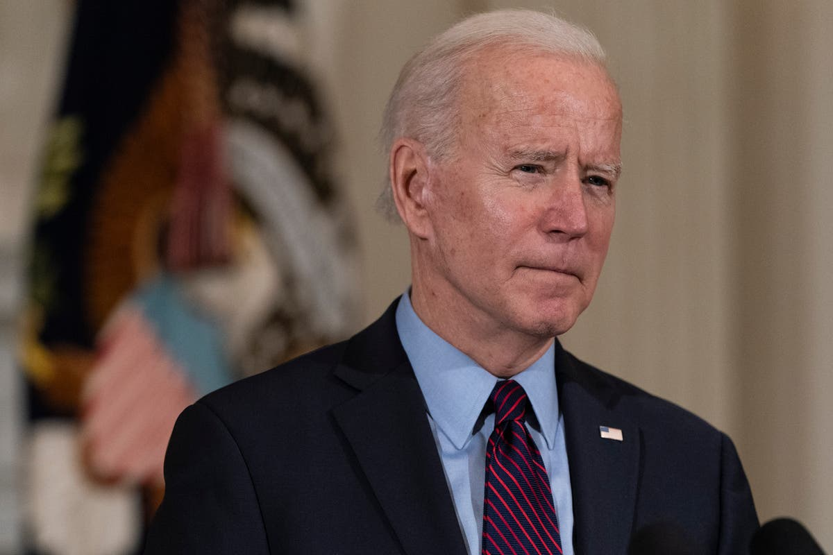 Biden gives Calif. woman pep talk in weekly address revival
