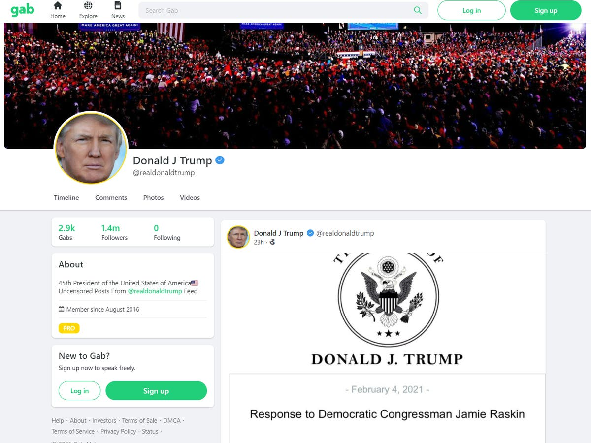 What is Gab? Inside the fast-growing Twitter competitor that has become a refuge for Trump and his supporters