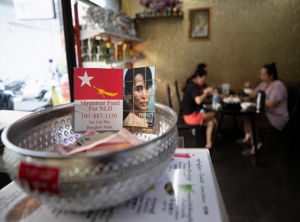 APTOPIX Thailand Myanmar Expatriates
