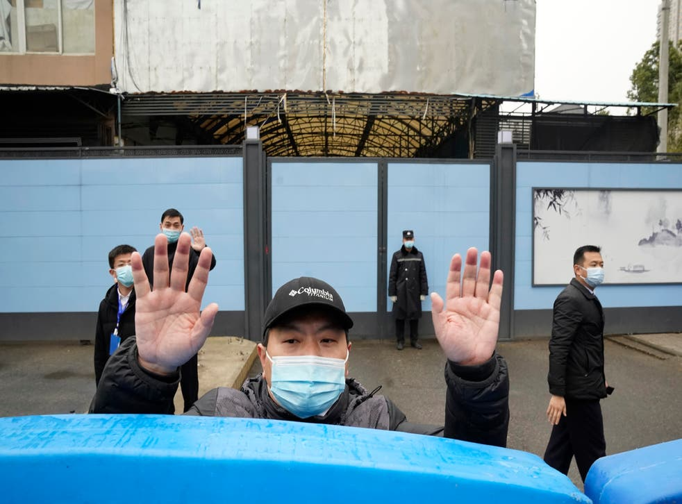 Virus Outbreak China WHO Interview