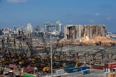 Líbano: Empresa alemana retira material peligroso del puerto de Beirut