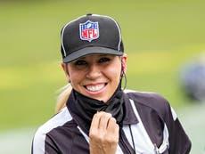 ¿Quién es Sarah Thomas? La primera mujer árbitro en oficiar un Super Bowl