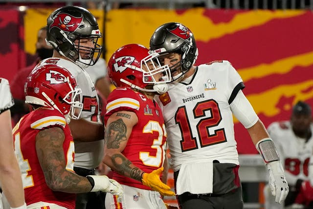 <p>Chiefs Buccaneers Super Bowl Football</p>