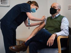 Covid news – live: Over-70s urged to make vaccine appointments as fears grow over South African variant