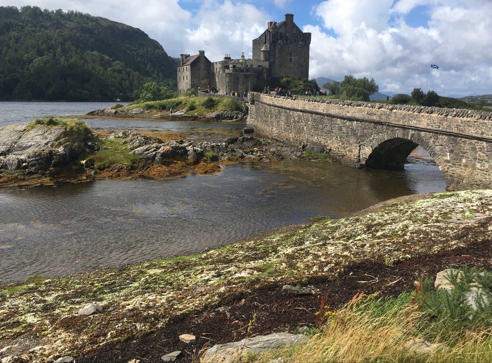 <p>Eilean Donan Castle in Loch Duich</p>