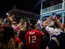 Wild maskless Super Bowl celebrations in Covid variant hotspot spark superspreader fears