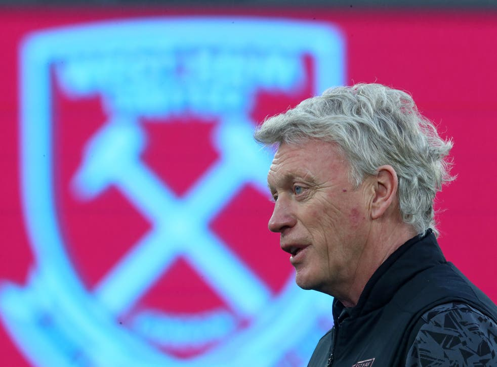 <p>David Moyes' West Ham are now up to fifth in the Premier League table</p>