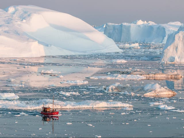 The Arctic is warming more than twice as fast as any other region on Earth
