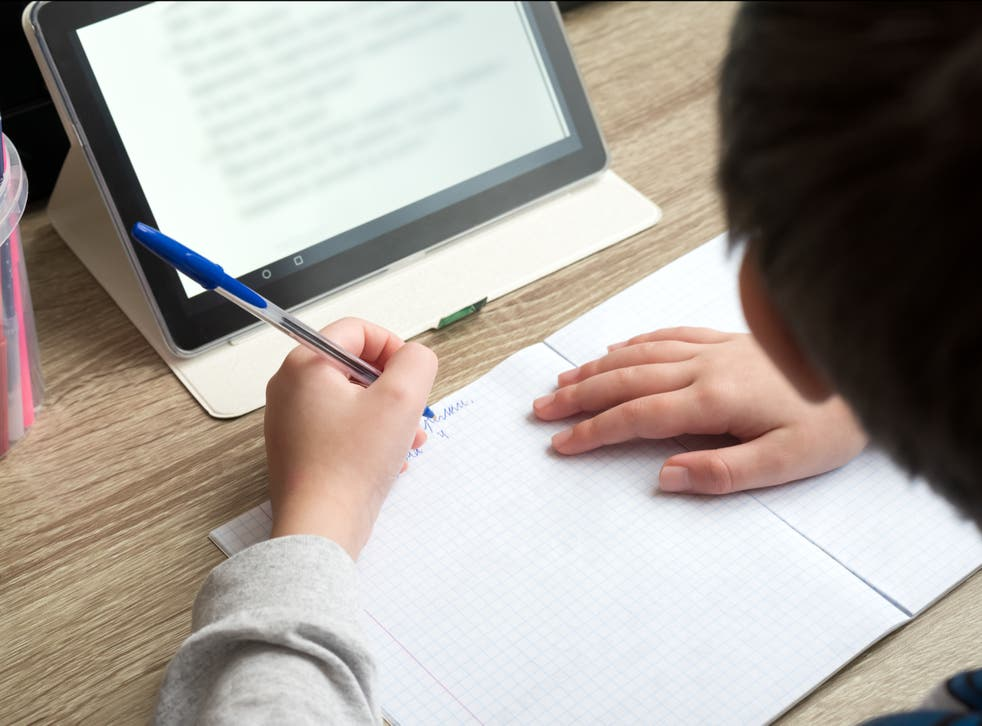 <p>Most pupils were faced with online learning between early January and March this year under England's lockdown over coronavirus</p>