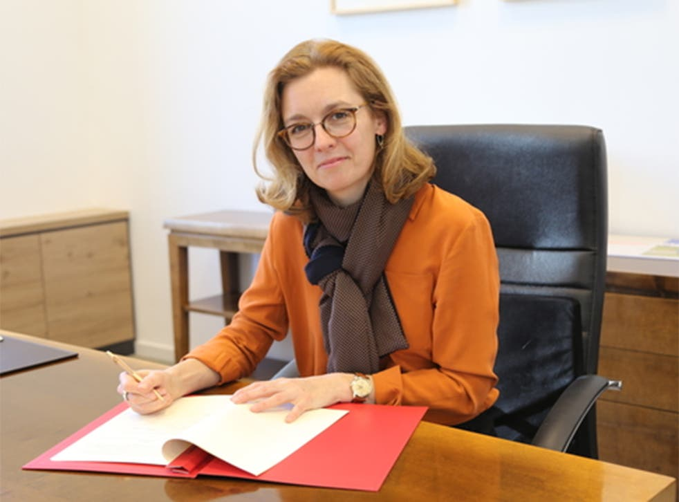 <p>Sabine Monauni could become the latest woman to lead a European nation</p>