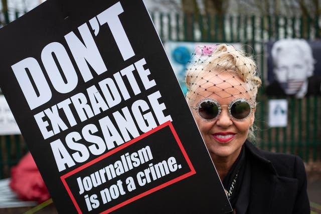 Activistas de todo el mundo han exigido la liberación del fundador de WikiLeaks