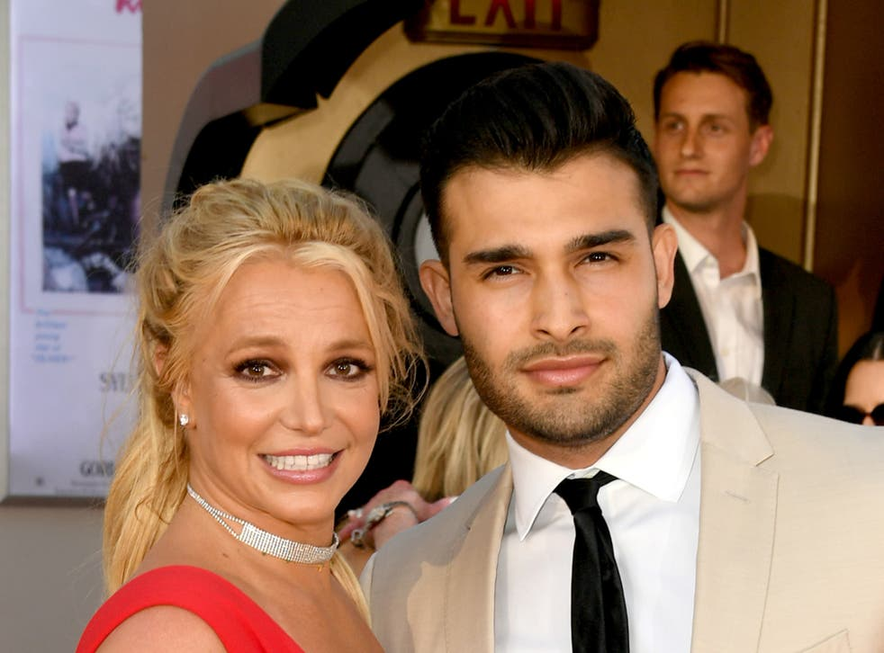 <p>Britney Spears has been dating Sam Asghari since 2016</p>
