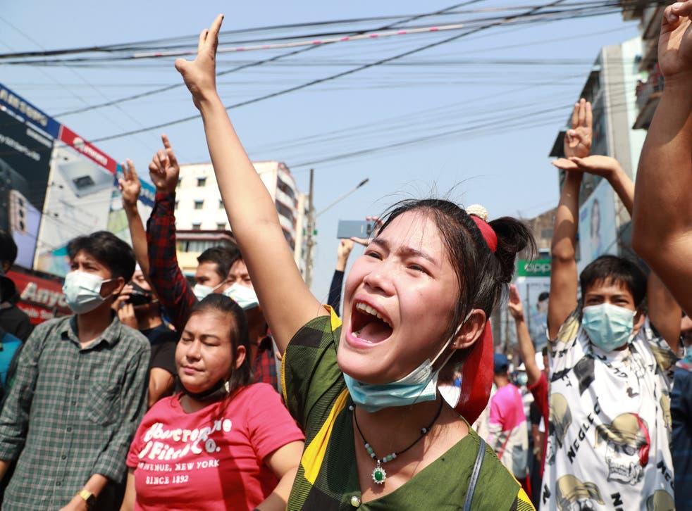 Myanmar Protests Explainer