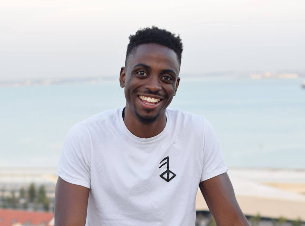 <p>Karama began his entrepreneurial journey with five-a-side website Pitch Up</p>