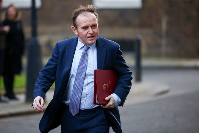 <p>George Eustice has publicly insisted there is 'no legal barrier' to exports - demanding Brussels back down</p>