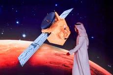 La sonda Hope realiza una maniobra asombrosa para entrar en órbita alrededor de Marte