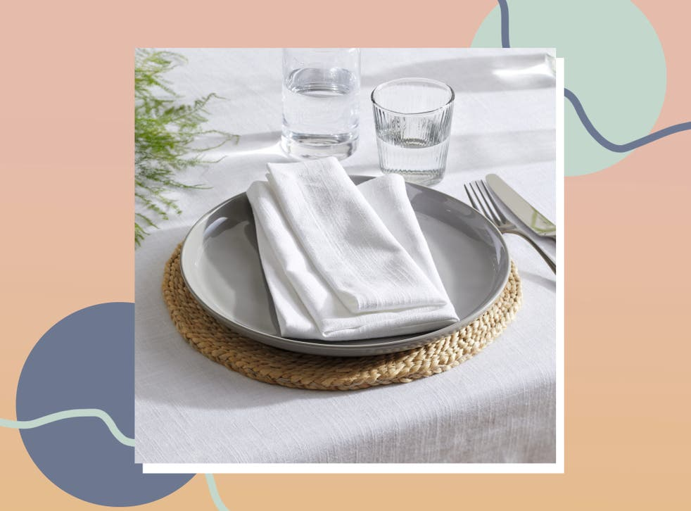 <p>Serviettes are better for both the environment and your dinner party ambience</p>