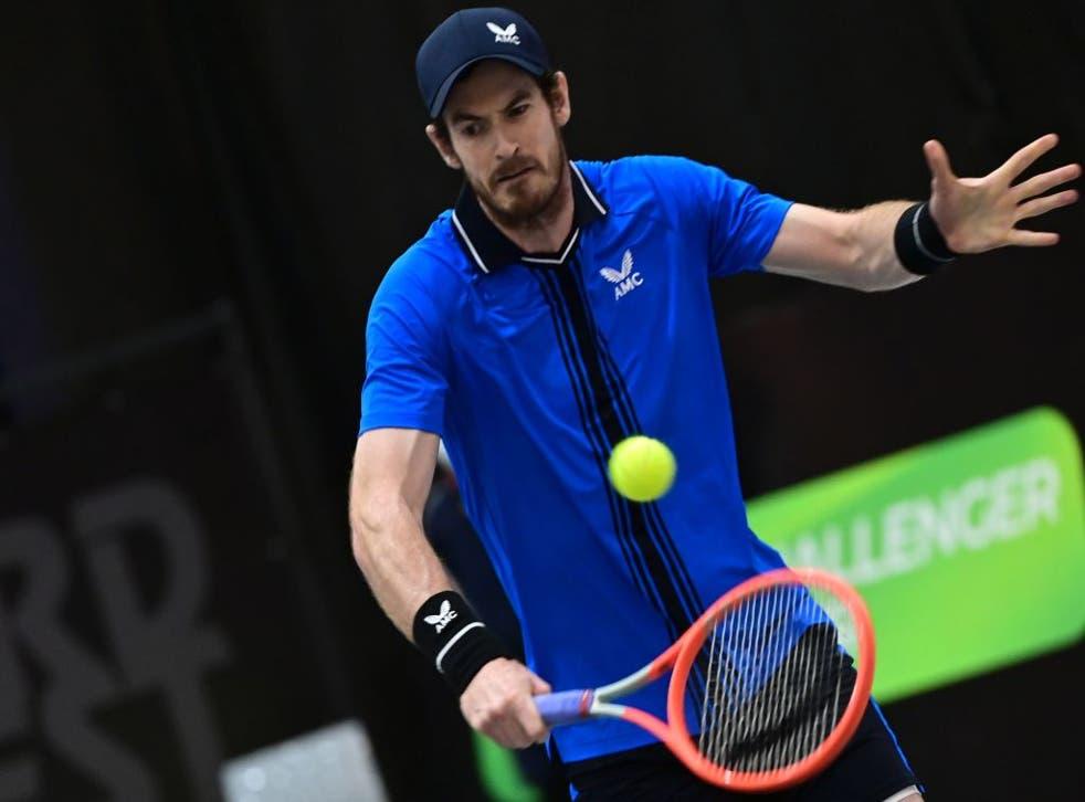 Andy Murray beats Maximilian Marterer