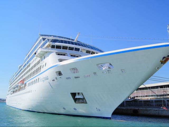The voyage is on Oceania's Insignia cruise ship