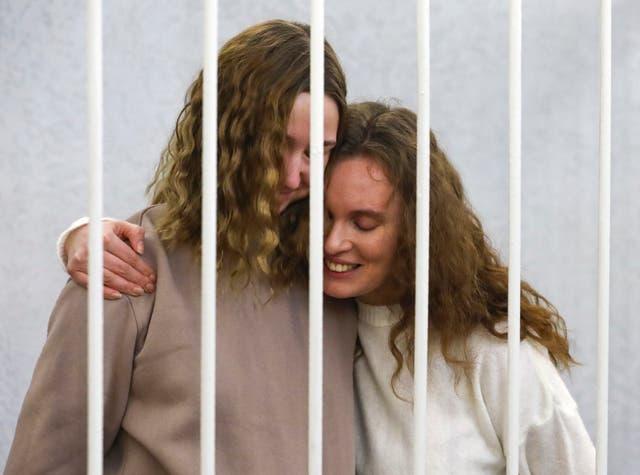 Belarus Journalists' Trial
