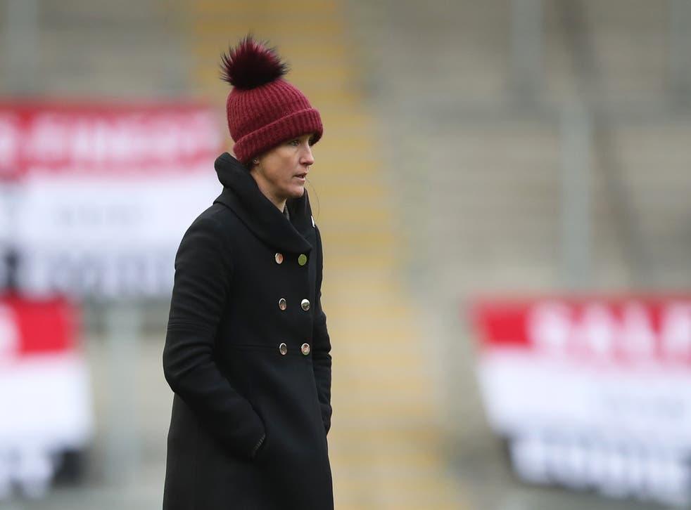 Manchester United manager Casey Stoney