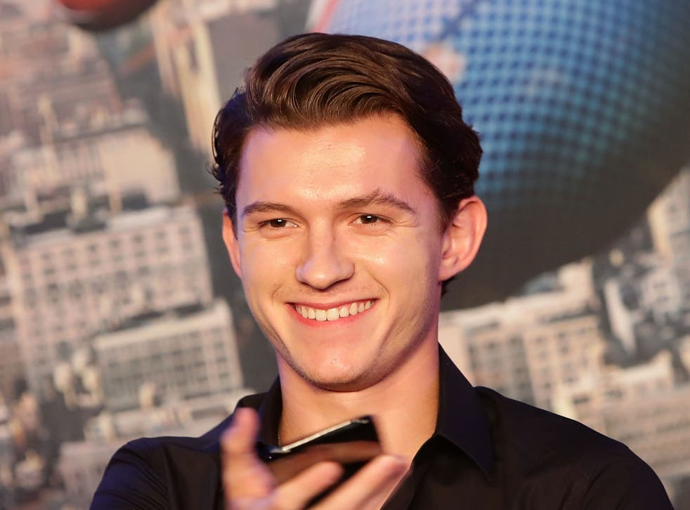 <p>Tom Holland asserted his star power on the set of the forthcoming 'Spider-Man' film</p>