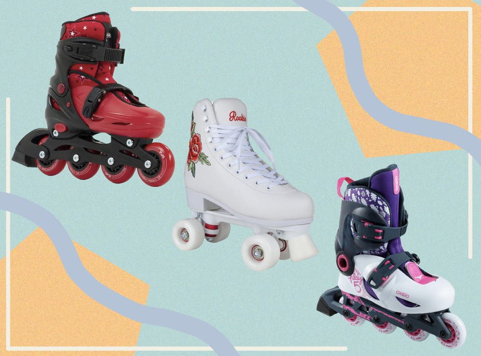 <p>Choose from adjustable inlines, heelys, retro style lace ups and Velcro strap options </p>