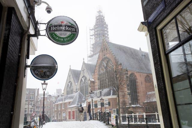 Netherlands Earns Heineken