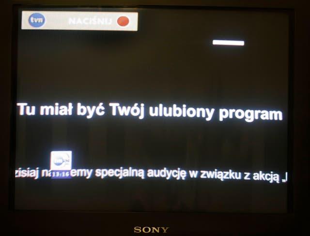 Poland Media Protest