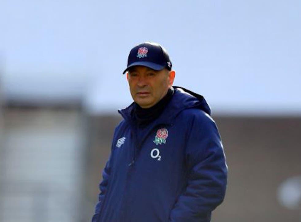 Eddie Jones is looking for England to rebound against Italy