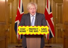 """Boris Johnson describe el juicio político de Trump como un """"escándalo"""""""