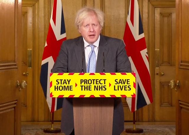 <p>Informe de Boris Johnson.</p>