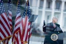 """Trump ha sido declarado """"incitador en jefe"""" en el juicio político, mientras los demócratas juran que la evidencia muestra que él no es un """"espectador"""""""